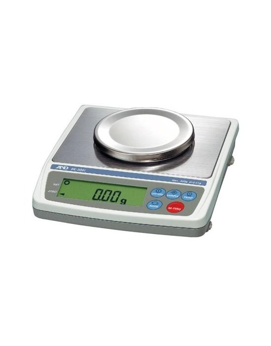 ترازوی آزمایشگاهی با دقت0/01 گرم (A&D)